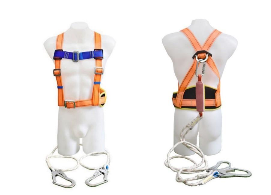 双背双绳大钩-编织绳+护腰+缓冲包-涤纶